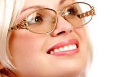 Business woman smile royalty free stock images