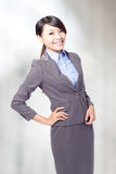 Business woman smile Royalty Free Stock Photo