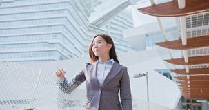 Business woman feel free royalty free stock image