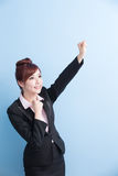 Business woman smile to you Stock Photography