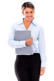 Business woman smiling Royalty Free Stock Photos