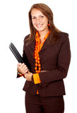 Business woman smiling Royalty Free Stock Image