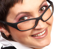 Business woman smiling. Stock Image