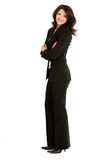 Business woman standing Royalty Free Stock Photos