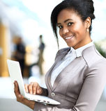 Business woman standing Royalty Free Stock Image