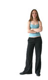 Business woman standing - sally Stock Photo