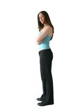 Business woman standing - sally 2 Stock Image