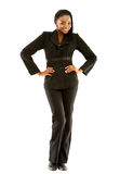 Business woman standing up Stock Photo