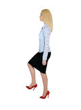 Business woman step up Stock Photos