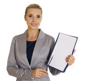 Business woman - Stock Image Royalty Free Stock Image