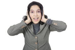 Business Woman Stress Royalty Free Stock Photos