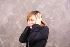 Business woman stress Stock Photo
