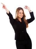 Business woman success Royalty Free Stock Images