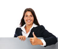 Business woman success Royalty Free Stock Photo
