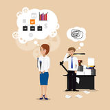 Business woman successful Stock Images