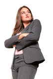 Business woman in suit Royalty Free Stock Photos