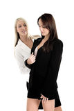 Business woman in Suits. Two business woman in dressed in suits Royalty Free Stock Photo