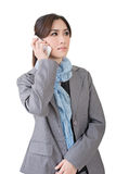 Business woman talk Stock Image