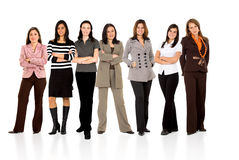 Business woman only team Royalty Free Stock Photo