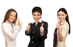 Business woman team Stock Image
