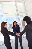 Business Woman Teamwork Royalty Free Stock Photography