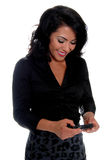 Business Woman Text Messaging Stock Photography