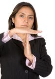 Business woman time out Stock Photo