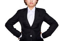 Business woman is tired Royalty Free Stock Images