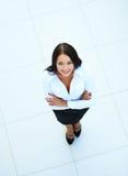 2 business woman Top beskådar Royaltyfria Foton