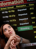 Business Woman Travel Stock Image
