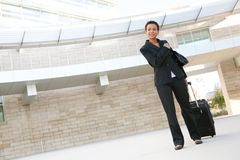 Business Woman Travelling Royalty Free Stock Photo