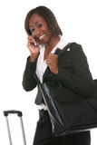 Business Woman Travelling Stock Photography