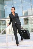 Business Woman Travelling Royalty Free Stock Image