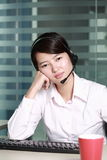 Business woman tried Royalty Free Stock Photography