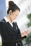 Business Woman Using Cell Phone Royalty Free Stock Photo