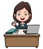 A business woman Royalty Free Stock Image