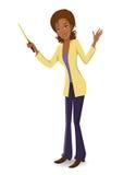 Business woman. Vector illustration of Business woman/teacher Stock Photos