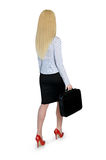 Business woman walk Royalty Free Stock Photography