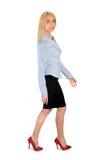 Business woman walk Stock Photos