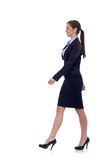 Business woman is walking Royalty Free Stock Photography
