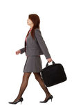Business woman walking Stock Image