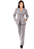 Business woman walking Royalty Free Stock Images