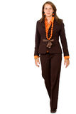 Business Woman Walking Royalty Free Stock Photography