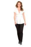 Business Woman Walking Royalty Free Stock Image