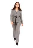 Business woman walking Stock Photo