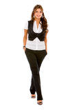 Business woman walking Royalty Free Stock Photos