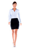Business woman walking Royalty Free Stock Photo