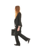 Business woman walking Stock Photo