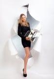 Business-woman Stock Photo