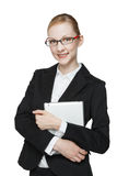 Business woman wearing glasses Stock Photos